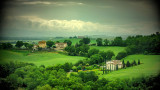 Traditional Tuscan Farm Country