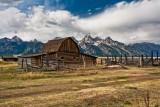 Barn On Mormon Row