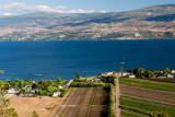 Lake Okanagan From Mission Hill Winery