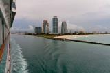 Leaving Miami  - Dusk