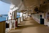 Norweigian Pearl Walking Deck