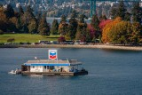 Fuel Barge and Stanley park