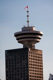 Harbour Center and the Top Of Vancouver Revolving Restaurant