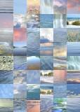 12 water, sky quilt