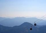 65 gondola over the mountains