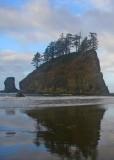 17 second beach sea stack