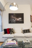 Artwork in a client's apartment (Red 2010)