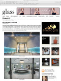 Tiffany HK flagship store, featured on glass