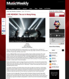 Images of The xx on Music weekly asia