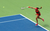 Venus Willliams, Novak Djokovik, at 2015 US Open