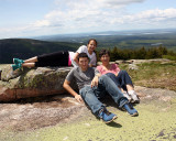 Danny Erin and Ita on Cadillac Mountain.jpg