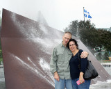 Beth and Rick at a Quebec City Fountain.jpg
