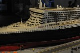 Queen Mary 2  made from LEGO