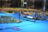 Model of Hamburg Harbour