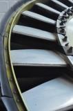Sikorsky H-34 engine fan