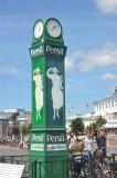 Market place clock