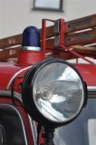 Search light on an Opel fire engine