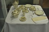 Place setting from airship Hindenburg