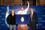 El Honorable Senado de la Nación  homenajeó al explorador argentino Emilio Scotto junto a Nestos O. Rosso y Carlos Flores