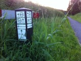 Scenic signposting system - junction numbers and LF route