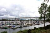 Riverplace Marina, Marquam Bridge,  Portland, Oregon