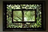 Window, Lan Su Chinese Garden, Portland, Oregon