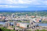 Marquam Bridge, Willamette River, Portland, Oregon