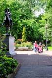 Teddy Roosevelt Statue, South Park Blocks, Public Art, Portland, Oregon