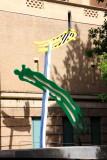 Roy Lichtenstein, Brushstrokes, 1996, Portland Art Museum, Portland, Oregon
