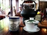 Tea, Lan Su Chinese Garden, Portland, Oregon