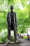 Abraham Lincoln Statue, Henry Waldo Coe, 1928,  South Park Blocks, Public Art, Portland, Oregon