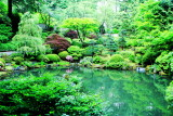 Strolling Pond Garden (chisen kaiyu shiki teien), Japanese Garden, Portland, Oregon
