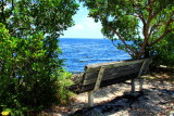 Bench, Biscayne National Park, Florida