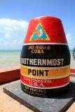 Southernmost Point,  Key West, Florida Keys