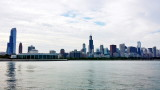 Chicago skyline, museum campus
