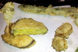 How to eat Tempura: 5. Sweet potato, onion, Asparagus, Gingko root, Tokyo, Japan