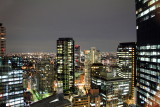 Night View from the Hilton, Shinjuku, Tokyo, Japan