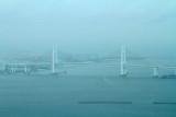 Yokohama Bay Bridge, Yokohama, view from Landmark Tower, Japan