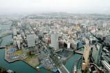 Yokohama stadium, Yokohama, view from Landmark Tower, Japan