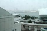 Yokohama, view Yokohama Bay Hotel, Japan