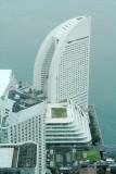 Yokohama Grand Inter-Continental Hotel, view from Landmark Tower, Japan