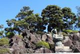 Buddha in the garden, Narita-san Shinshō-ji Temple, Narita, Japan