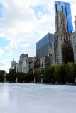 Ice Rink, Millennium Park, Chicago, Illinois
