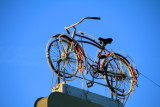 Cycle in the roof, Charleston Historic District