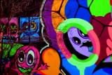 Colors, graffiti, Charleston Historic District