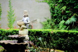 Statue, Residential garden, Charleston Historic District