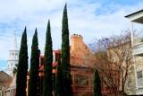 Four Cypresses, St. Michael's Episcopal Church, c.1761, 80 Meeting Street