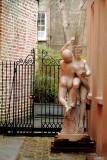 Backyard garden, Charleston Historic District