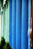 Colorful columns, Charleston Historic District