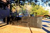 Charleston Museum, 360 Meeting Street, Model of the Civil War Submarine, H.L. Hunley